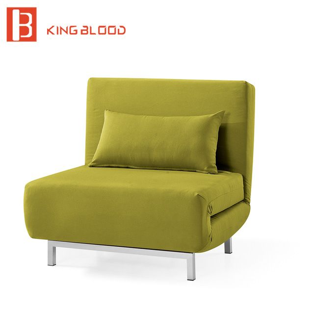 Fold Out Chair Bed Yellow Collection
