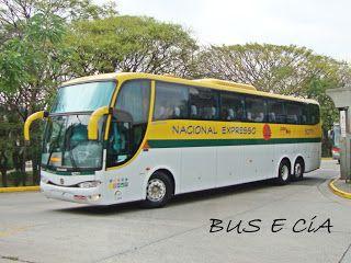 Bus & Cia: EMPRESA NACIONAL EXPRESSO ONIBUS 52711 RODOVIARIA DE SÃO PAULO SP
