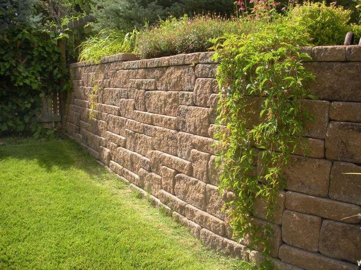 Self Stacking Retaining Wall Blocks In 2019 Natural