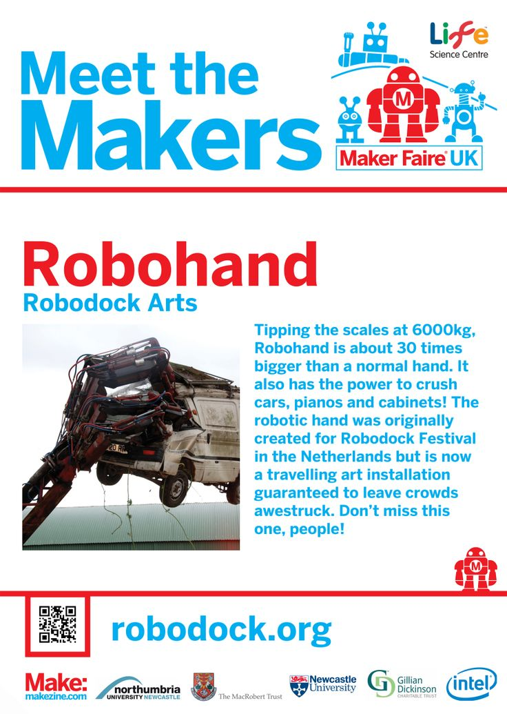 Robohand at Maker Faire UK 2014
