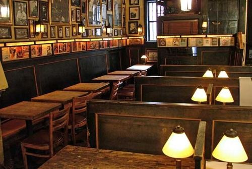 Interior of Chumleys in the West Village?