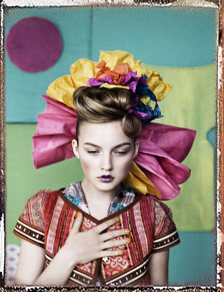 Photographer: Signe Vilstrup: Signs Vilstrup, Colors, Elle Danishes, Danish Design, Colour Fashion Photography, Art Graphics Photography, Danishes Design, Colour Palettes, Hair