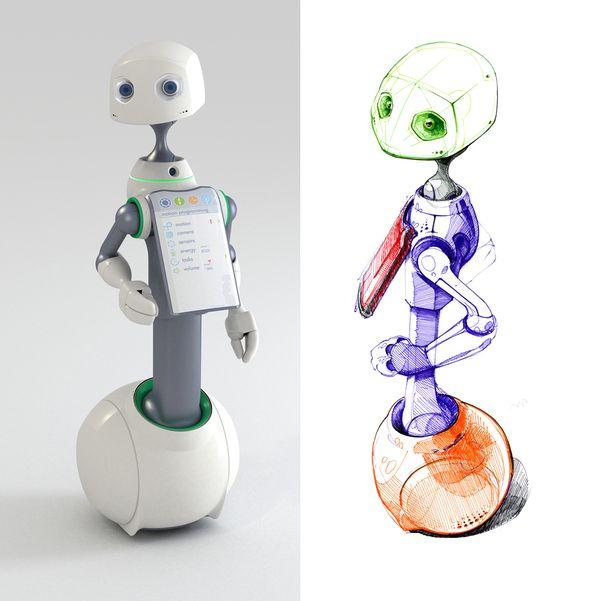 HOMANT | Robot-Manager on Industrial Design Served