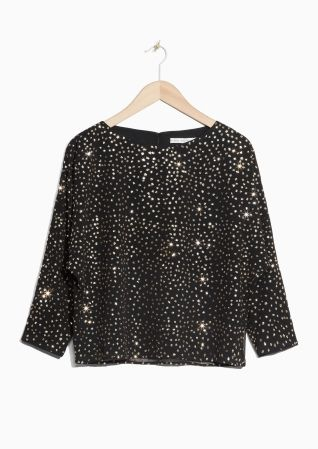 & Other Stories | Sparkle Blouse