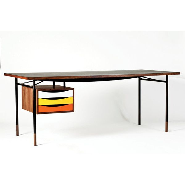 Lovely Finn Juhl Nyhavn Table W/ Tray Unit