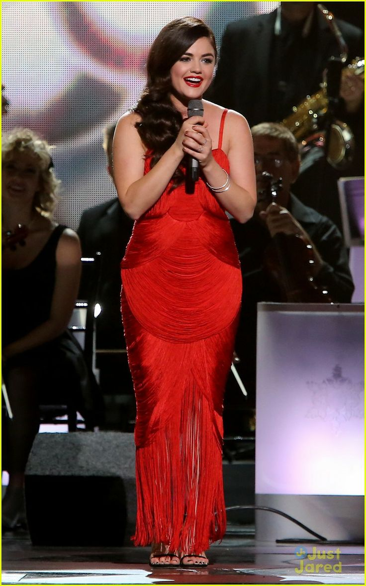 Lucy Hale: CMA Country Christmas Special Taping | lucy hale country christmas 15 - Photo Gallery | Just Jared Jr.