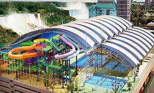 Groupon - Stay with Mini Golf and Optional Water-Park Passes at Skyline Inn Niagara Falls in Ontario. Dates into October. in Niagara Falls, ON. Groupon deal price: $55