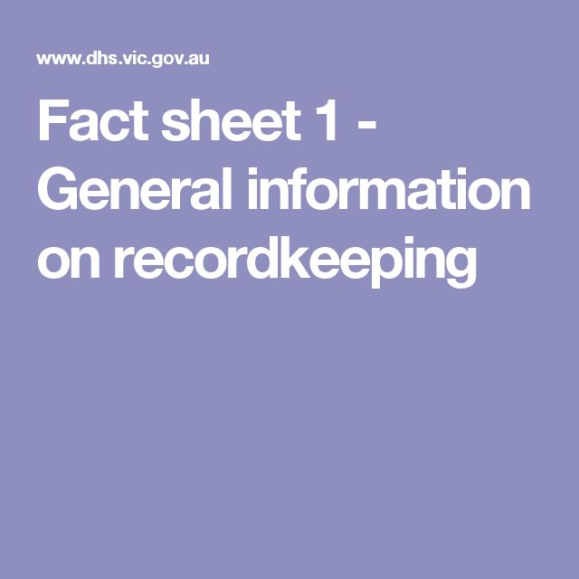 Great article on record keeping of client information and legislations