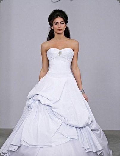 Seerer Wedding Gown By Michelle Roth For Kleinfelds Dress Strapless Seer Er Belles Pinterest Dresses And