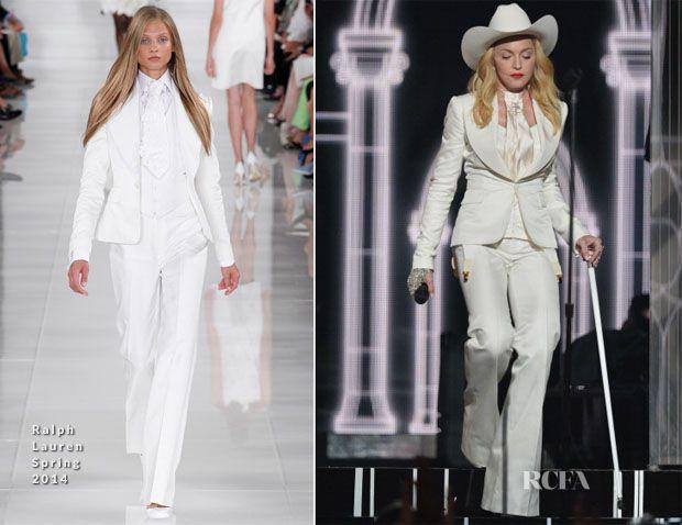 Androgina Madonna: con il figlio David e sposa coppie ai Grammy | Gossip - Rumors - Scoop - News