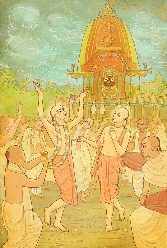 https://nilambaridasi.wordpress.com/drawings/  Sri Jagannath Ratha Yatra