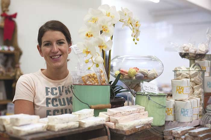 Lexi Bechet from Ma Mere Maison - sensational sweets made in Salt River!
