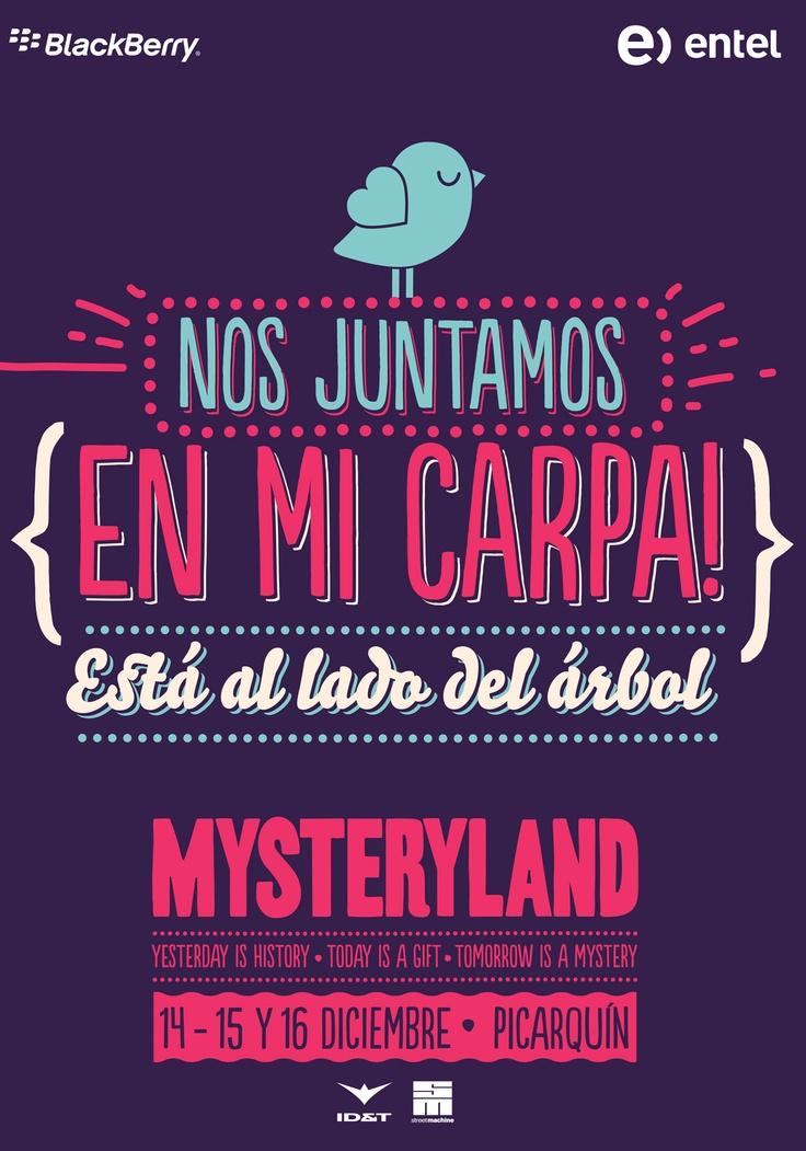 Mysteryland Chile 2012 - 14, 15 y 16 de diciembre - Hacienda Picarquín, San Francisco de Mostazal