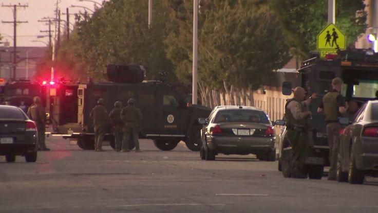 Reported Shooting Of Sheriff S Deputy In Lancaster Was Hoax Lasd La County Sheriff Sheriff Deputy Lancaster