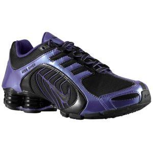 online retailer 59178 1f4f0 ... Nike Shox Navina SI - womens lady foot locker black and club purple ...