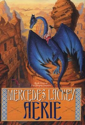 (26) Aerie (Dragon Jousters #4) by Mercedes Lackey | Epic Fantasy | Book Review | There is a great evil stalking the land. An evil that far exceeds that of the Magi who were merely its pawns. An evil that was myth but now has become all too real. Now a question just begs to be asked. Will the jousters and their dragons prove strong enough to defeat this new threat?