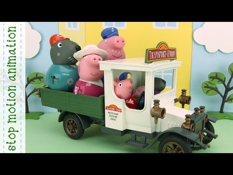 Sea Monster Peppa Pig stop motion animation all new english episodes 2017 - YouTube