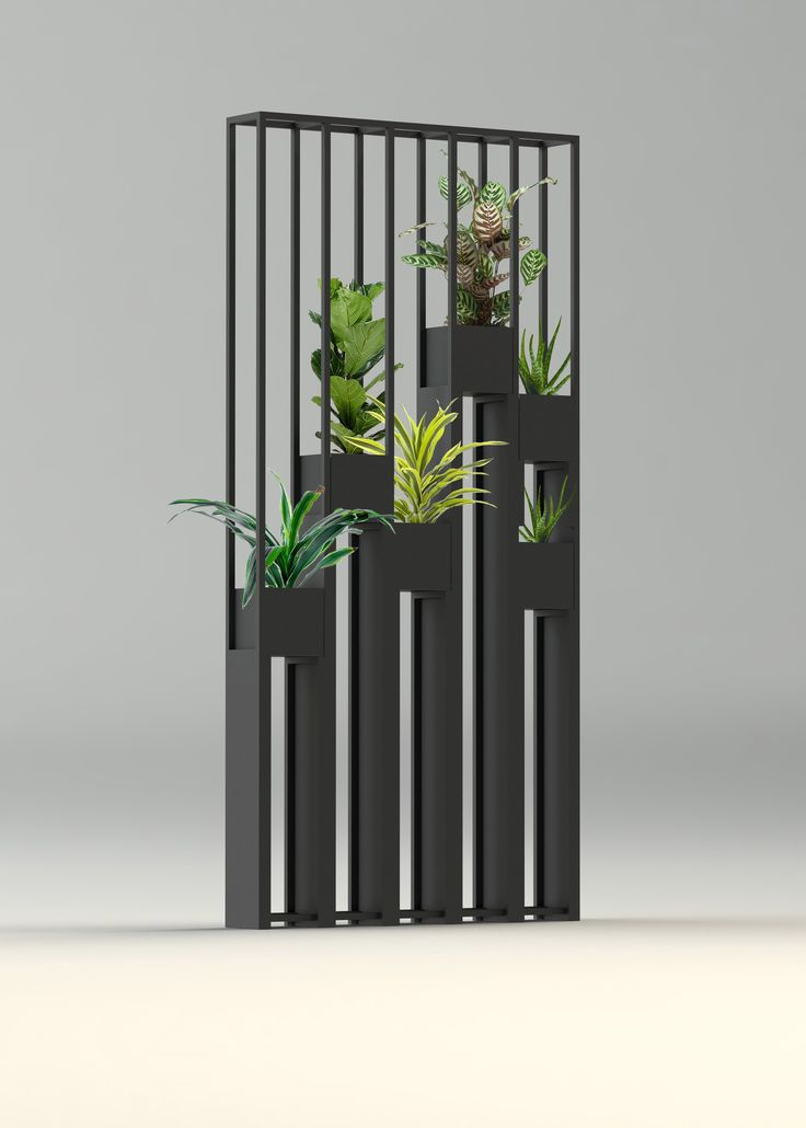 Greentower claustra en m tal pour s parer vos pi ces ou for Decoration murale jardin