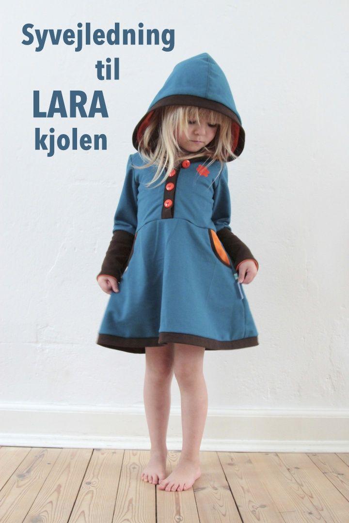 návod na ušití, placený střih, LaRaLiL: Šicí návod pro Lara-šaty