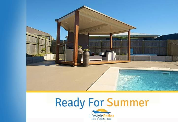 For custom-made decks & patios to fit your style, needs and budget, give us a call. http://bit.ly/LSPatio