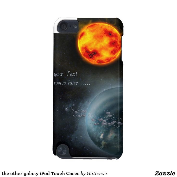 the other galaxy iPod Touch Cases