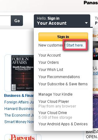 Amazon購物寄便利店方式
