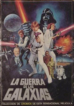 Álbum de cromos de La Guerra de las Galaxias