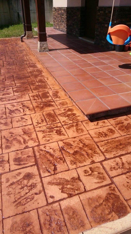 M s de 20 ideas incre bles sobre pavimento impreso en - Pavimento impreso valencia ...