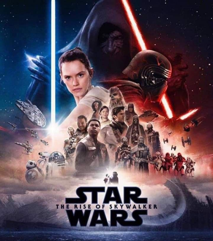 Star Wars The Rise Of Skywalker Star Wars Episodes Star Wars Movies Posters Star Wars Poster