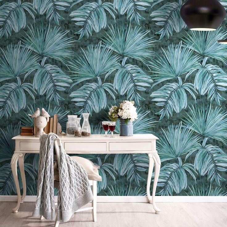 145 mejores im genes de juega con tus paredes en pinterest - Como poner papel pintado leroy merlin ...