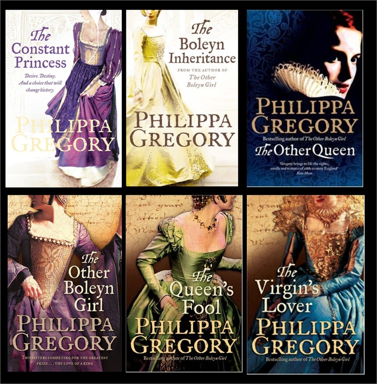Philippa Gregory's Tudor Court Series.... really interesting way to learn about history for you geeks out there like me!