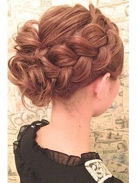 ヘアーブランド ビーアーツ hair brand b-arts|ヘアスタイル:人気NO1!結婚式&2次会アップ|ホットペッパービューティー
