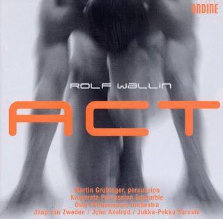 Den Klassiske cd-bloggen: Rolf Wallins rytmiske verden