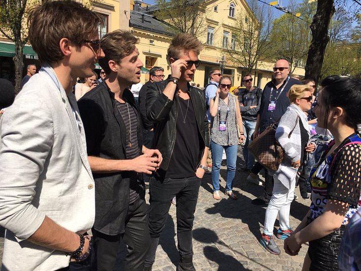 Jamie-Lee meets Lighthouse X #ESC2016 #Eurovision #Eurovision2016 #ESC #Grönalund #ComeTogether #Stockholm #JamieLee #LighthouseX #Deutschland #Germany #Dänemark #Denmark by prinz_esc