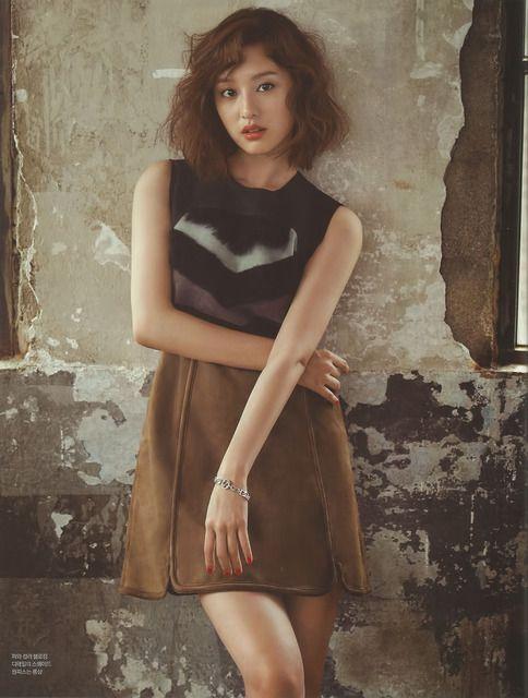 Kim Ji Won - InStyle Magazine May Issue 16 (Bean Pole
