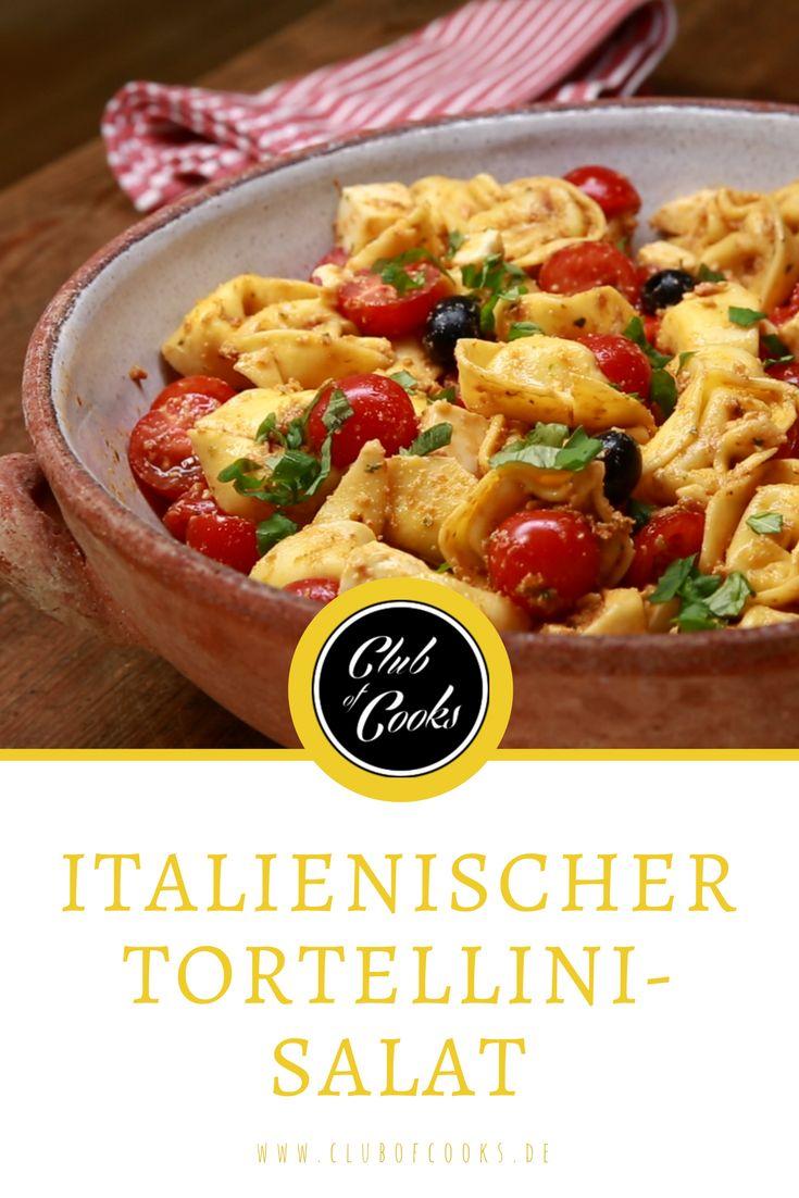 Tortellinisalat ist die feine, italienische Antwort auf unseren Nudelsalat!