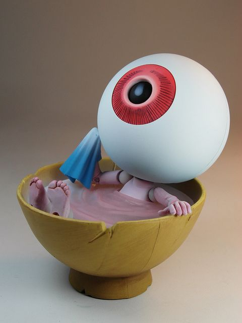 "Kaiyodo – Revoltech Takeya – GeGeGe No Kitaro – Medama Oyaji ""Eye Ball Father"""