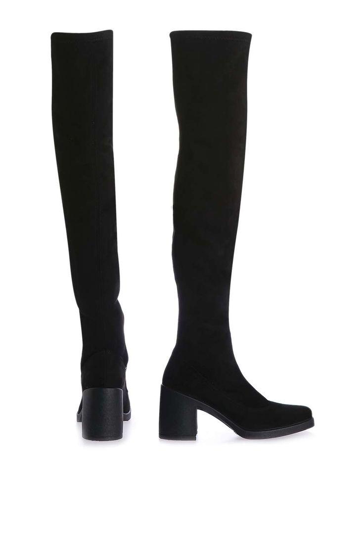 Bottes chaussettes hauteur genou CAPRI