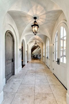 Friar Tuck-Memorial Village - traditional - Hall - Houston - Parker House Inc.