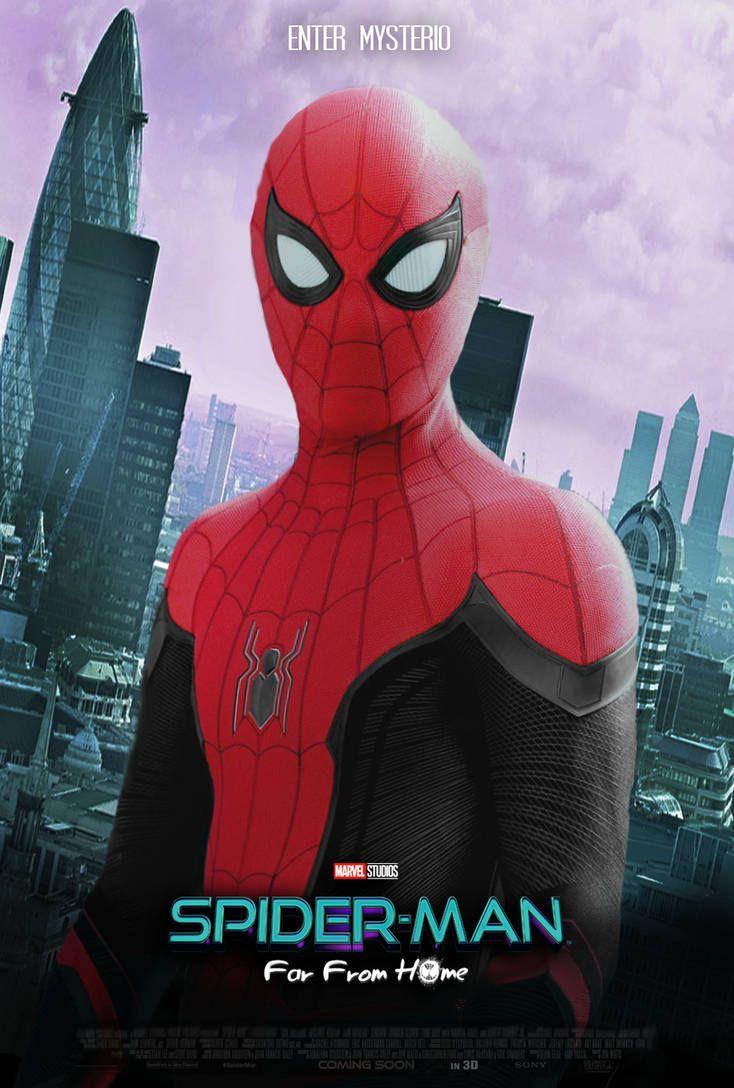 Ver Spider Man Lejos De Casa 2019 Película Completa Online En Español Latino Subtitulado 4k U Spiderman Marvel Spiderman Spiderman Man