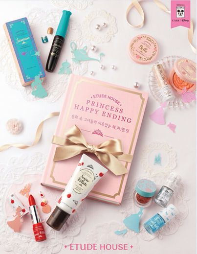 Etude House Disney Princess collection |At First Wink - A blog with a lot of fun, beauty, fashion, and food.