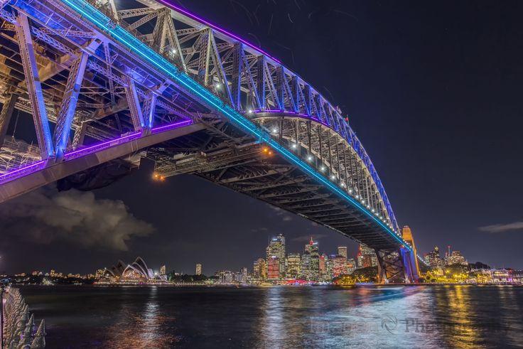 Sydney Harbour Bridge - Vivid