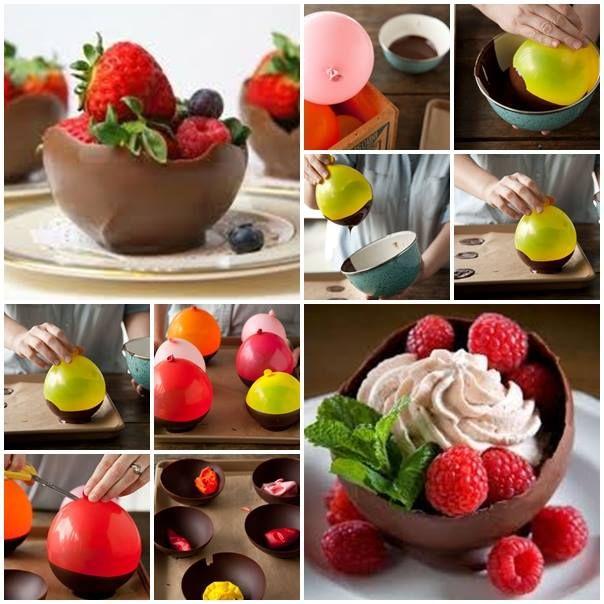 Chocolate Balloon Bowl