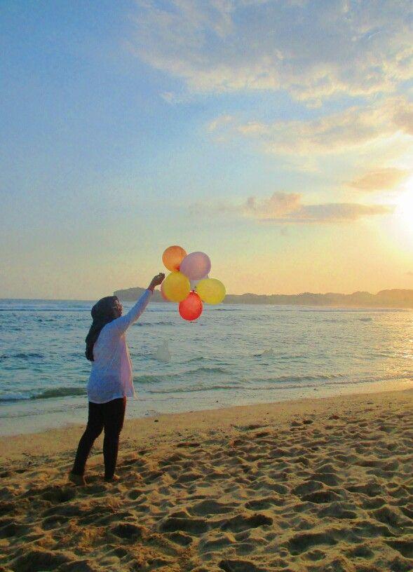 Sadranan beach. #Jogyakarta