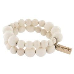 Pilvi white bracelet - Aarikka