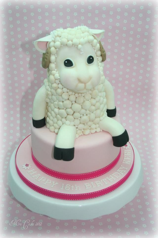 372 Best Images About Sheep Cakes On Pinterest Sheep