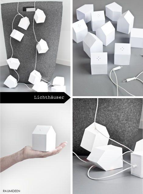 DIY - Lichthaeuser mit Druckvorlage -  http://www.ideen-wohnen-garten-leben.blogspot.de/2015/06/diy-idee-lichterkette-haeuser.html