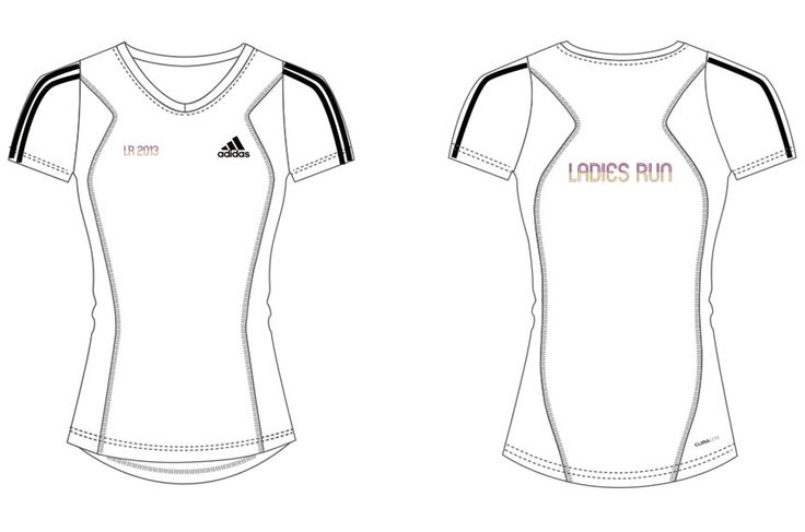 This is THE T-shirt for all our Lady Runners sponsored and designed by adidas only for you!!!  Dont forget to join us!! http://race.ladiesrun.gr/