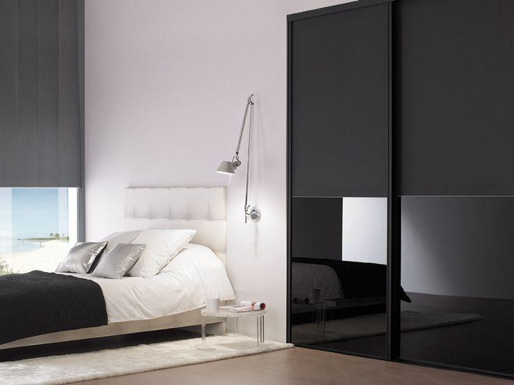21 best Deco placard images on Pinterest Cupboard doors, Closets - guide porte coulissante placard