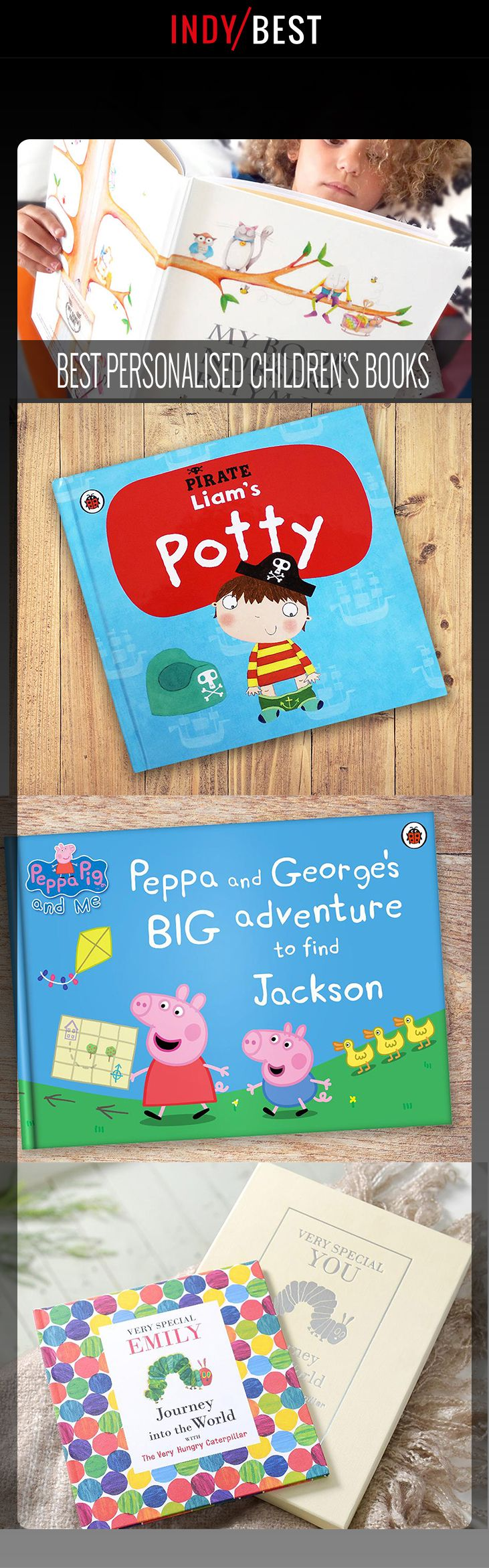 These personalised children's books will keep little ones turning the page: http://ind.pn/2gpnAow